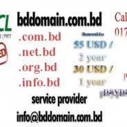 .BD is the country domain name of Bangladesh and it is searched by the customers through search engines